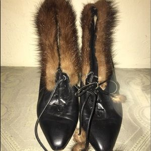Vintage Bally Booties